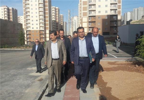 روند اجرای طرح مسکن مهر در پردیس بررسی شد