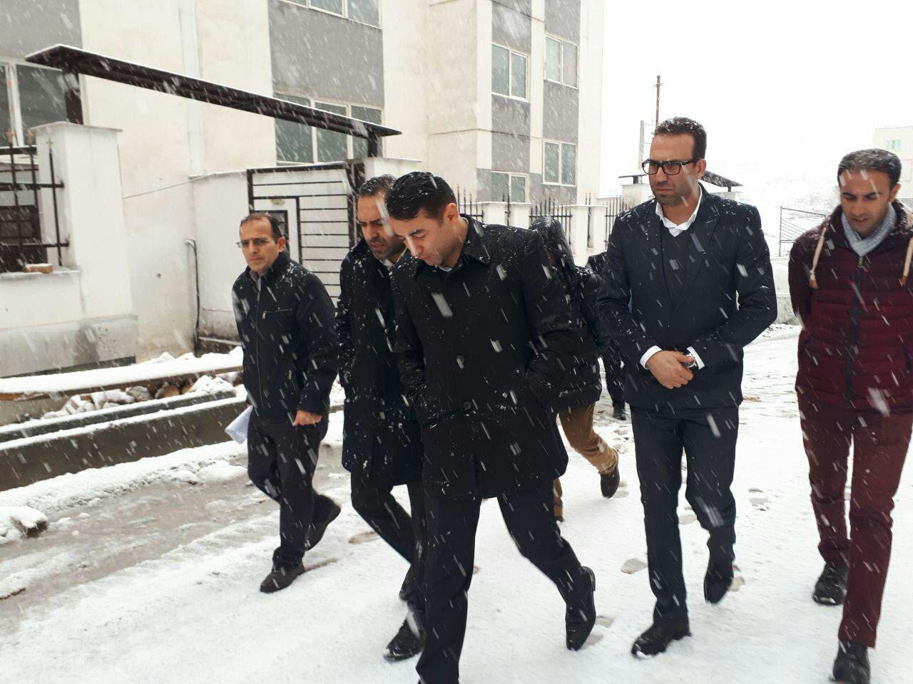 هشدار مدیرعامل شرکت عمران به سازندگان، تعطیلی کارگاهها به بهانه برف ممنوع