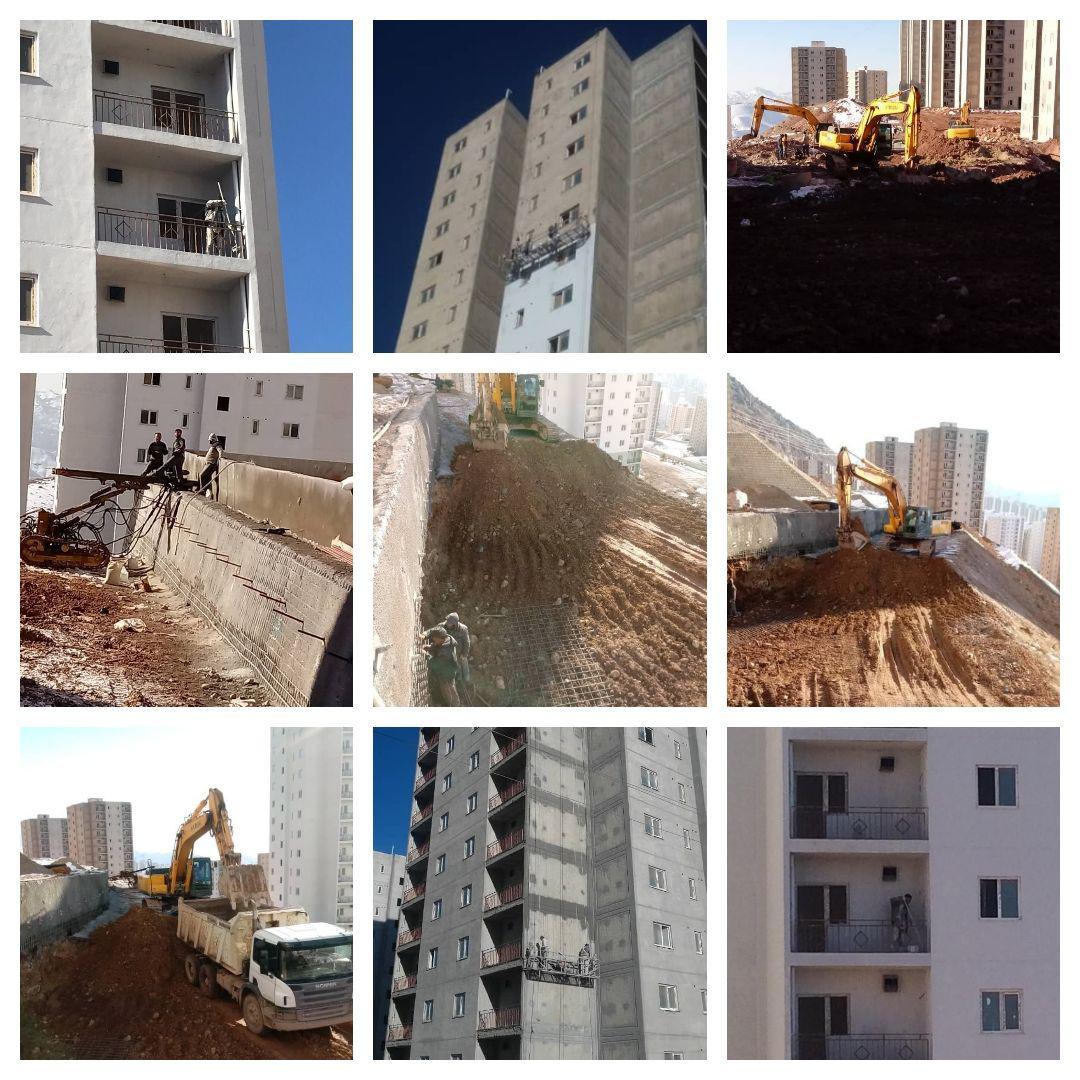 اجرای عملیات عمرانی در فاز ۱۱ شهر جدید پردیس (به روایت تصویر)
