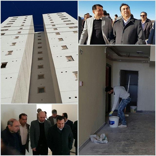 بازدید میدانی از بلوک های آماده افتتاح زون ۱ فاز ۱۱ مسکن مهر پردیس