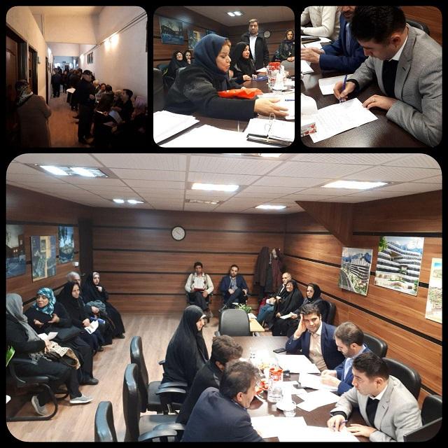 برگزاری ملاقات مردمی هفتگی مدیرعامل شرکت عمران شهر جدید پردیس در کارگزاری مسکن مهر